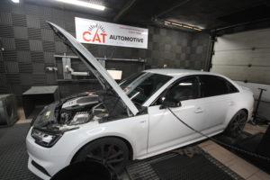Audi B9 S4 Tuning on the dyno