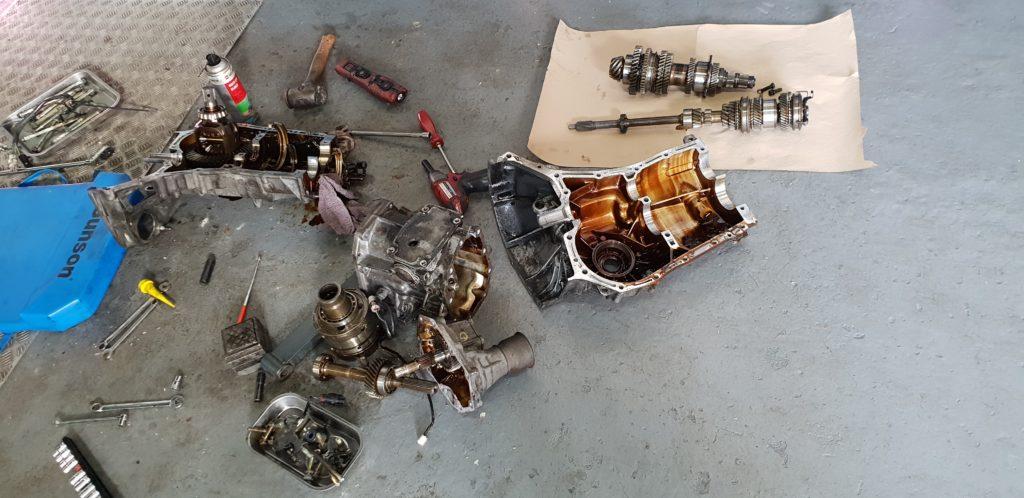 Subaru Type R gearbox problems norwich