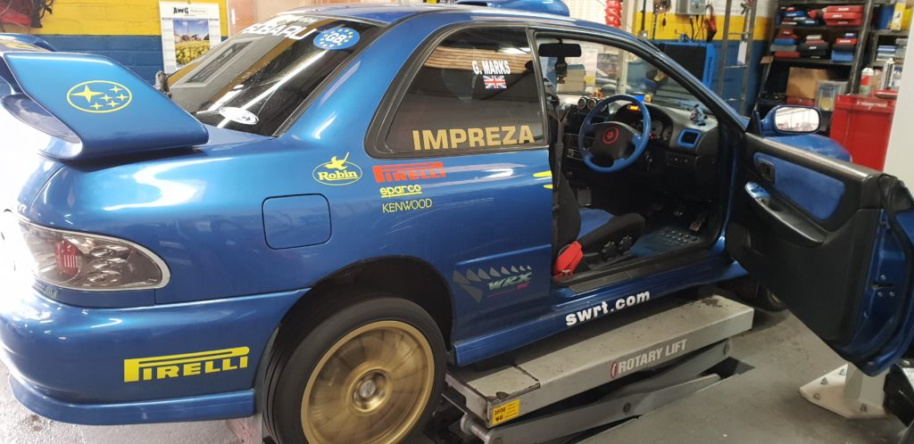 Subaru Type R with gearbox issues norwich