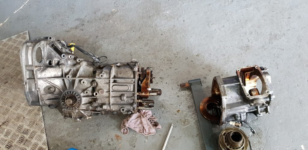 Subaru Type R with gearbox issues