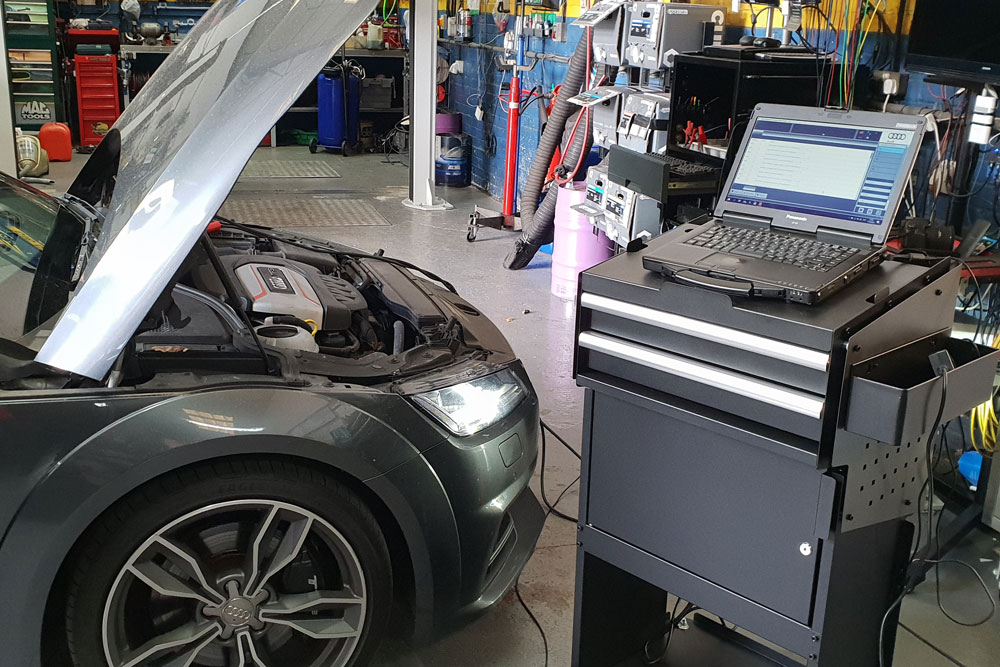 Vehicle Diagnostics at CAT Automotive in Norwich