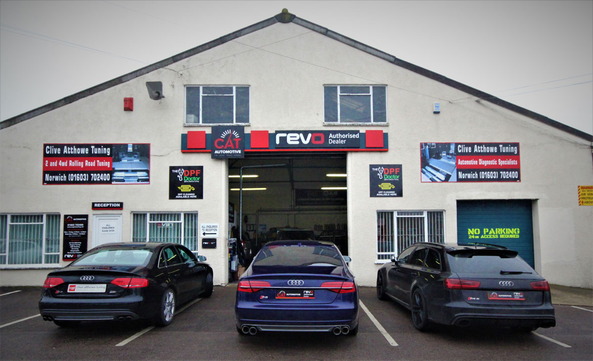 CAT Automotive in Norwich Garage