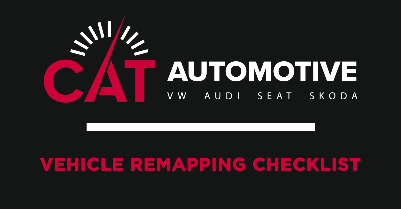 Vehicle Remapping Checklist