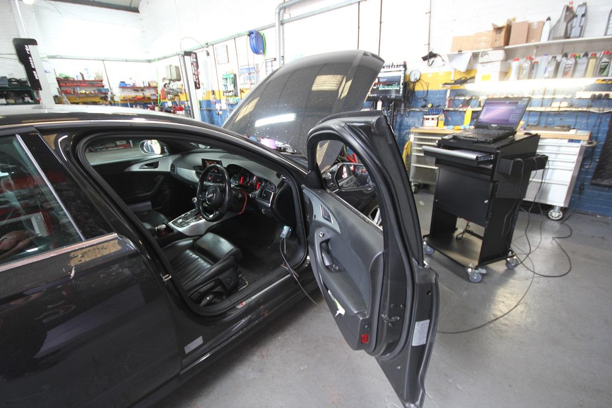 Odis programming coding diagnostics Audi specialists norwich